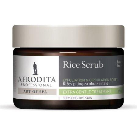 rice scrub - art of spa